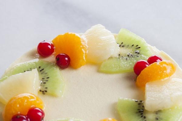 Mousse fruites tropicals